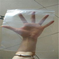 Clear high quality different size all purpose recyclable grocery packing LDPE plastic ziplock bag