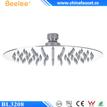 "Beelee BL3208 Water Saving Round 8"" Stainless Steel Rainfall Shower Head"