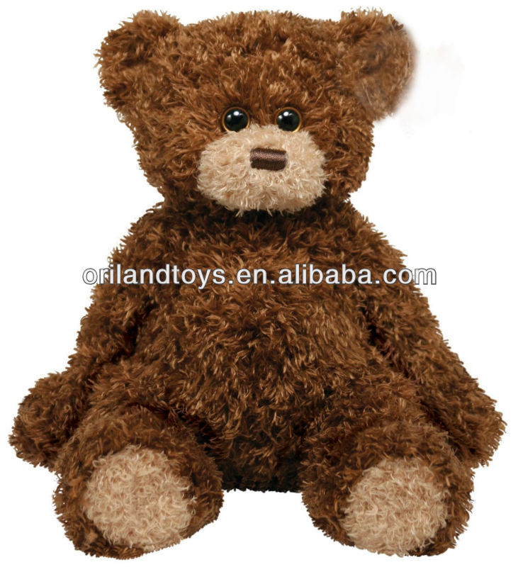 very lazy soft plush bear toy