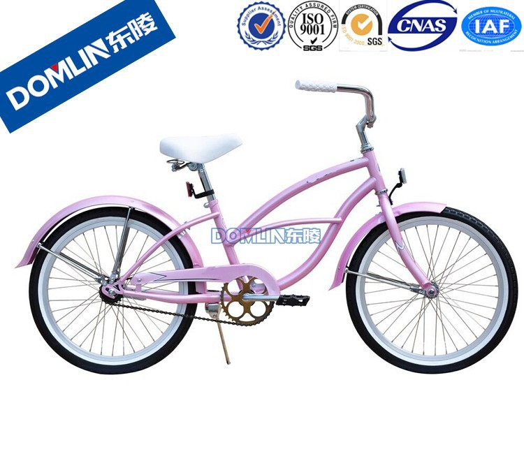 DOMLIN With 19 years factory supply 20 inch girls beach cruiser bike
