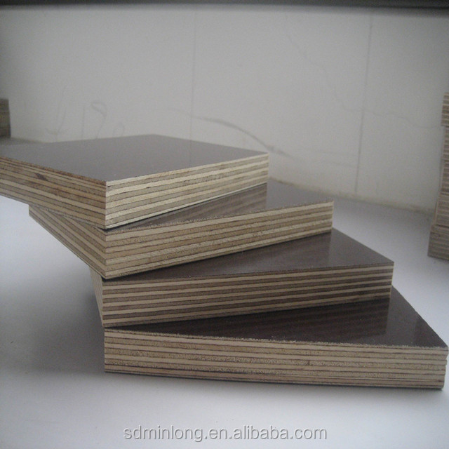 two times press Brown Film face Plywood 15mm for construction