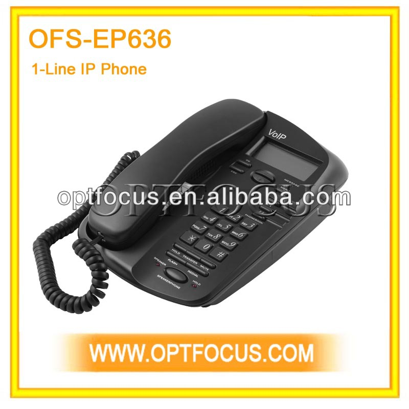 IP phone two RJ-45 ports