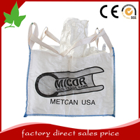 customize bulk bag FIBC pp sugar plastic bag manufacturer 1000kg