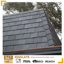 S-0301XZ tile roofing materials natural black or dark gray roofing slate stone