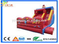 Clown inflatable dry slip and slides PVC 0.55MM PVC tarpaulin for sale, Guangzhou manufacturer for sale