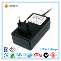 12v 2.5a led switching power supply 30w