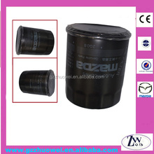 100% Wood Pulp High Quality Automobile Oil Filter For Mazda / Audi / Mitsubishi / Opel JEY0-14-302A