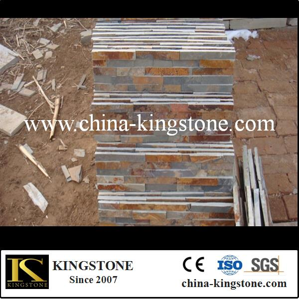 Hot sale slate flagstone pattern (Direct Factory Good Price )