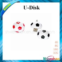 football shape customize USB flash drive,world cup 2014 usb, New Usb Product with key chain