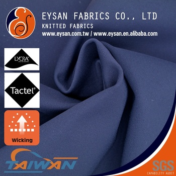EYSAN Stretch 80 Tactel Polyamide 20 Lycra Double Knit Fabric