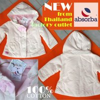 FASHION ABSORBA JACKET GIRLS 6-12M 100% COTTON