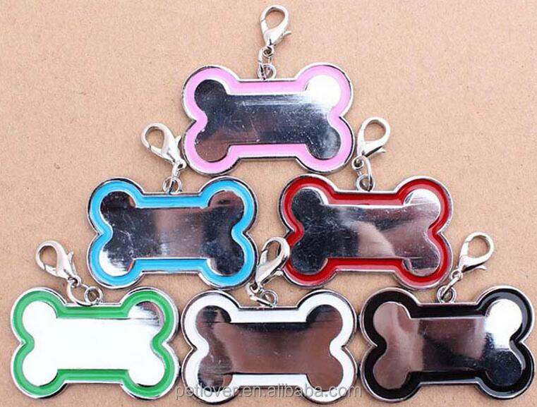2016 New wholesale pet ID tag for dog collar