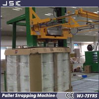 Good quality fully automatic horizontal pallet Strappingallet strapping machine with 10 years manufacture experience