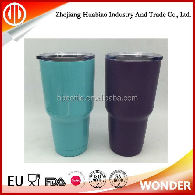 2017 hot sale double wall stainless steel insulated 30oz tumbler pineapple tumbler