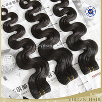Factory price 6A natural virgin asian girl hair weave