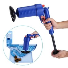 hot sale manual toilet air high pressure drain blaster