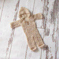 Newborn jumpsuits Baby knit clothes newborn photo props