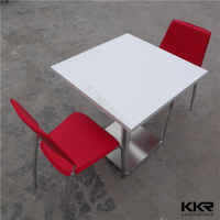 Square Shape Modern Two Person Dining Tables
