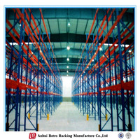 Powder Coating Practical Chinese Influence Steel Equipment Grocery Used Heavy Duty Shelf