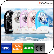 5 Way Powered mini Portable Rechargerable Multifunctional Air Freshener home and travel blower solar USB desk fan