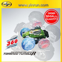 tornado tumbler rc toy stunt car in stock for small order sale