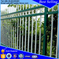 arts and crafts outdoor wrought iron fence