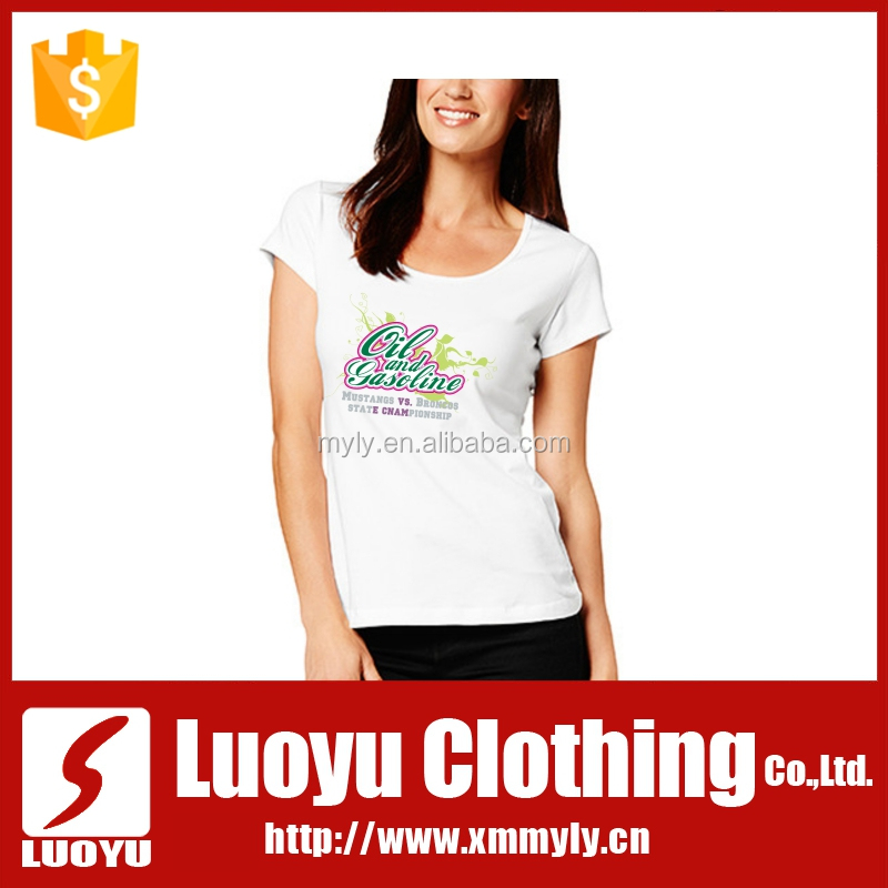 2013 Latest European Women Design Tshirt