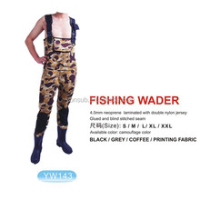 Fishing Waders with rubber shoes
