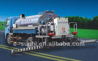intelligent bitumen road spraying truck