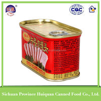 340g China Wholesale Custom pork luncheon meat