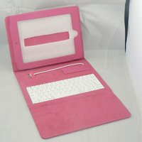 Leather Cover With keyboard for Tablet PC