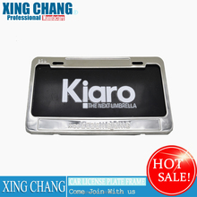 Wholesale US Standard Stainless Steel Polish Mirror License Plate holder