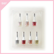 Private label makeup Nail Polish real nail polish sticker glitter design nail salon gel nail polish