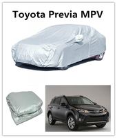 Keep warm Auto Parts Car Parking Cover High Quality Heated car cover For Toyota Previa MPV