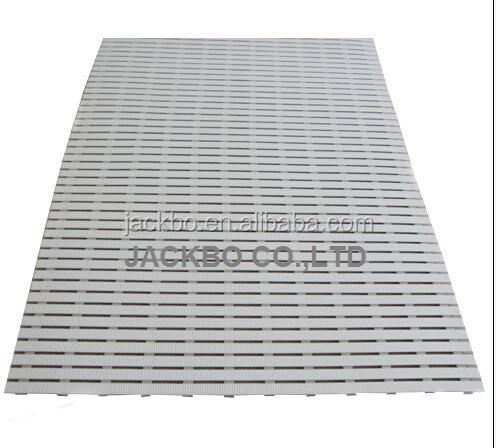 New design [Better price for container]PVC/plastic swimming pool overflow grating