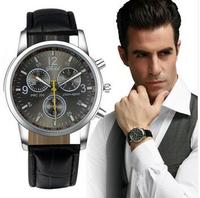 Leather Strap Men Sports Military Vogue Man Watch