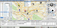 gps tracking vehicle software support google map and support trackers GT06N AL900C AL900E AL900G