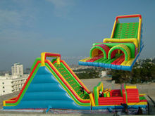 Inflatable slide water slide inflatable bouncy castle with slide