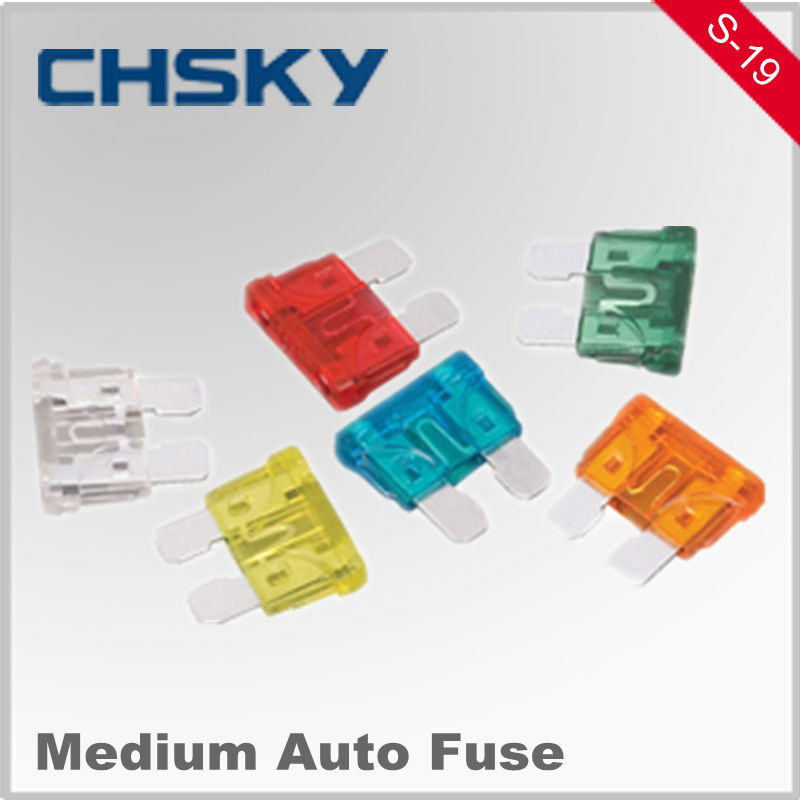 Hot Sale with the high quality 12V 5-35A Medium auto flat fuse S-19