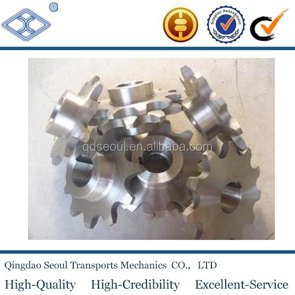 Standard DIN 8187 ISO/R 606 pitch44.45 42T C45 chain sprocket 28A-3