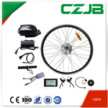 CZJB China 48v 350w 20 Inch Electric Bicycle Motor Kit With Battery