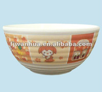 Melamine kids bowl daily used items