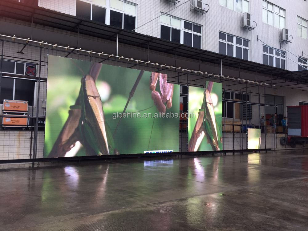4500nits Brightness HD huge outdoor LED screen with full colour led video walls