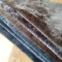 Sheepskin Lining Sheepskin Shearling real sheepskin fabric