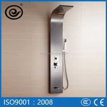 CE Certificate Thermostatic Faucets Parts Stainless Steel Shower Panel