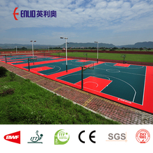 Enlio Basketball court tiles