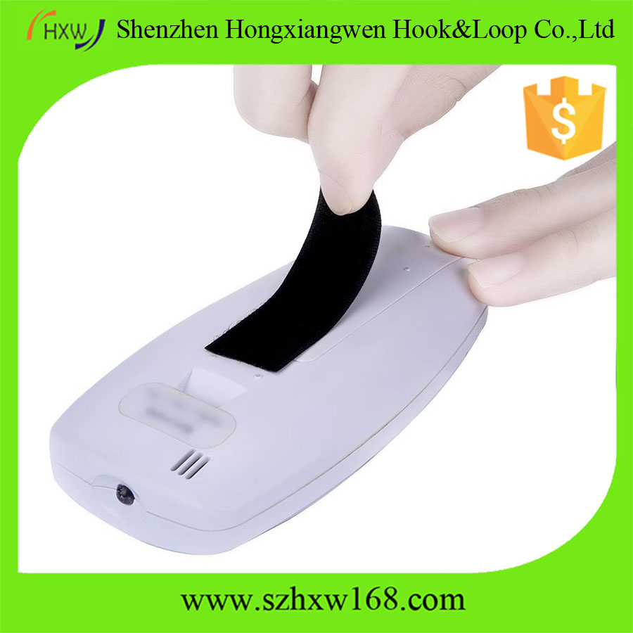 Black customized Self Adhesive Sticky Backed Hook Loop