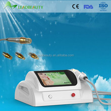 Hottest selling wrinkle removal handheld fractional rf with red led home use