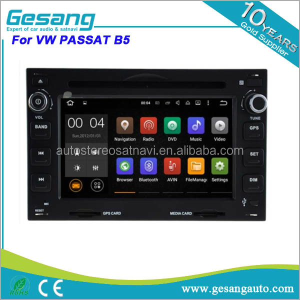 6.2 inch touch screen 2 din android car dvd player for VW volkswagen PASSAT B5