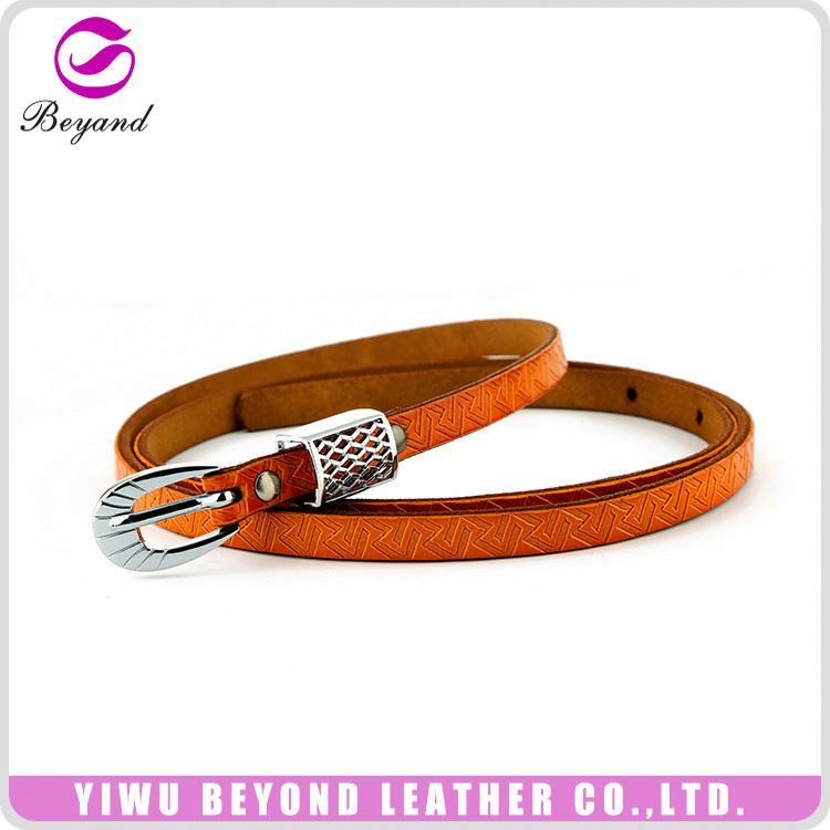 New selling personalized fancy leather belts manufacturer